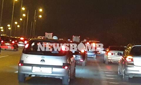 Κίνηση ΤΩΡΑ: Κυκλοφοριακό κομφούζιο στον Κηφισό λόγω ατυχήματος - Πού αλλού εντοπίζονται προβλήματα