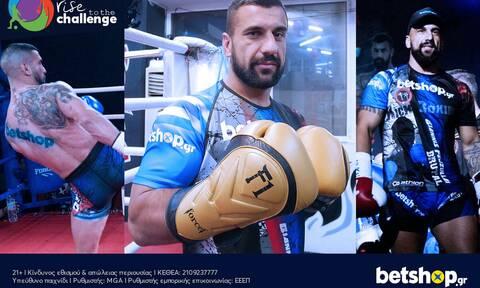 Το betshop.gr στηρίζει ως Μεγάλος Χορηγός τον Giannis Fejzullai στα ρινγκ!