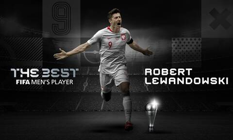 FIFA Best Awards 2020: Κορυφαίος όλων ο Λεβαντόφσκι - «Nίκησε» Μέσι, Ρονάλντο! (photos+video)