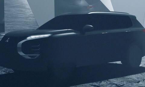 Πρώτη επίσημη εικόνα-teaser του νέου Mitsubishi Outlander