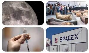 Ανασκόπηση 2020: Οι ανακαλύψεις της χρονιάς - Από το νερό στη Σελήνη στο εμβόλιο του κορονοϊού