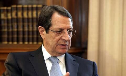 Αναστασιάδης: Δεν θα επιτρέψουμε να πληρώσουν οι πολίτες το κόστος των εκβιασμών ενός κόμματος
