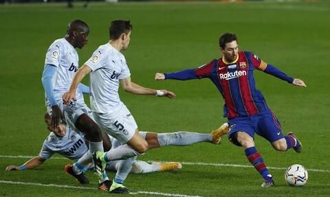 La Liga: Ισοφάρισε τον Πελέ ο Μέσι – «Γκέλαρε» η Μπαρτσελόνα! (videos)