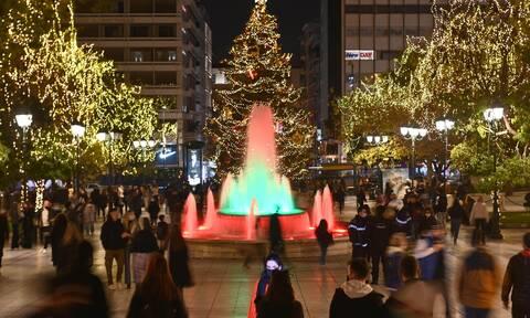 Απίστευτες εικόνες στο κέντρο Αθήνας - Θεσσαλονίκης παρά το lockdown - Χριστουγεννιάτικος... χαμός
