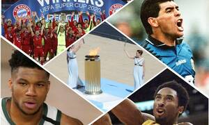 Ανασκόπηση 2020 - Αθλητισμός: Ο κορονοϊός άλλαξε τα πάντα και ο θάνατος πήρε δύο «Θεούς»