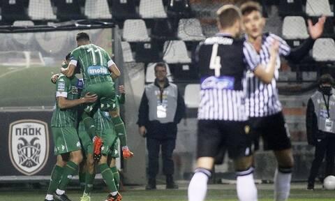 ΠΑΟΚ – Παναθηναϊκός: Ξεκίνημα με δύο γκολ στο ντέρμπι! - Δείτε τα τέρματα (videos)