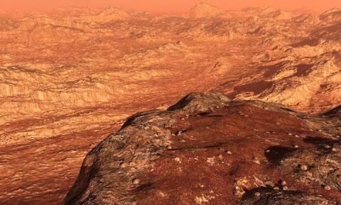 Διαστημόπλοιο εντόπισε στον Άρη μυστηριώδη «αγγελική φιγούρα» (pic)