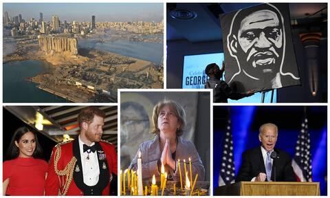 Ανασκόπηση 2020: Τα γεγονότα που «σημάδεψαν» τον κόσμο μέσα από φωτογραφίες