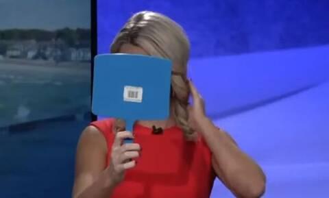Τρελό γέλιο: Όταν οι ρεπόρτερ παθαίνουν… ζημιά On Air (vid)