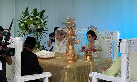 Απίστευτος γάμος στα χρόνια του κορονοϊού: Υποδέχθηκαν 10.000 καλεσμένους... drive through