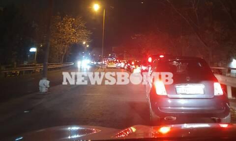 Καραμπόλα στην Εθνική Οδό: Ουρές χιλιομέτρων - Πού υπάρχουν προβλήματα στην κυκλοφορία των οχημάτων