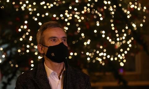 Θεσσαλονίκη: Έκκληση να μην υπάρξει εφησυχασμός εν όψει των γιορτών απηύθυνε ο Κωνσταντίνος Ζέρβας