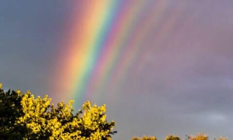 Ποια είναι τα χρώματα του ουράνιου τόξου