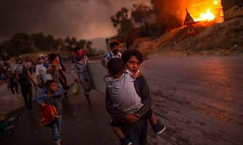Unicef: Φωτογραφία από τη Μόρια η εικόνα της χρονιάς - Ο Έλληνας που την τράβηξε