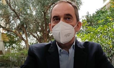 Πλακιωτάκης: «Έζησα τη μοναξιά της ασθενείας - Αισθάνθηκα την ανησυχία»