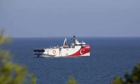 Βγάζουν ξανά το Oruc Reis οι Τούρκοι – Ποια περιοχή δεσμεύει η νέα Navtex
