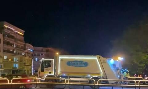 Στόλισε και τα απορριμματοφόρα ο δήμος Τρικκαίων (video)