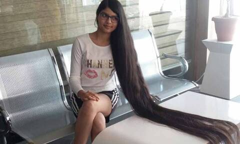 Nilanshi Patel: Η έφηβη με τα πιο μακριά μαλλιά στον κόσμο