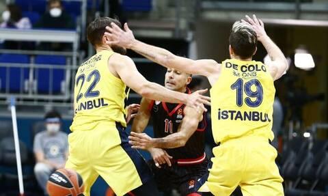 Euroleague: Δεν έφταναν στον Ολυμπιακό τα τρίποντα και νίκησε η Φενέρμπαχτσε