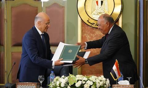 «Ράπισμα» στην Τουρκία: Αναρτήθηκε στον ΟΗΕ η συμφωνία Ελλάδας-Αιγύπτου για την ΑΟΖ