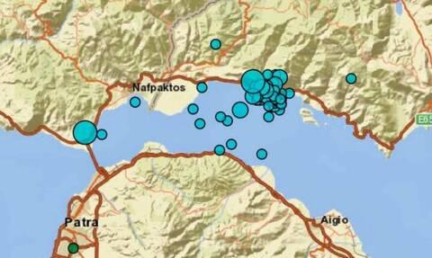 Σεισμός στη Ναύπακτο: Περισσότερες από 50 δονήσεις το τελευταίο 24ωρο