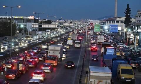 Κίνηση ΤΩΡΑ: «Φράκαρε» η Αθήνα – Που έχει περισσότερο μποτιλιάρισμα