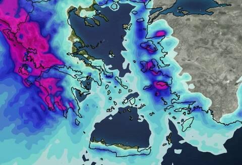 Καιρός - Προειδοποίηση Μαρουσάκη: Έρχονται βροχές και καταιγίδες - Πού θα είναι έντονα τα φαινόμενα