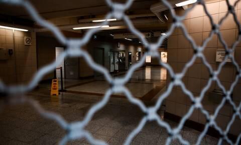 Έκλεισαν πέντε σταθμοί του Μετρό - Κατεβασμένα ρολά 17:00 - 21.00