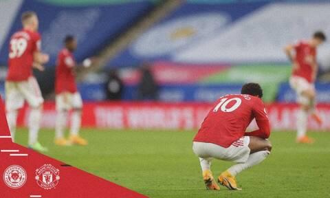 Premier League: Η Λέστερ έκοψε τη φόρα της Μάντσεστερ Γιουνάιτεντ - Δείτε τα γκολ (video)