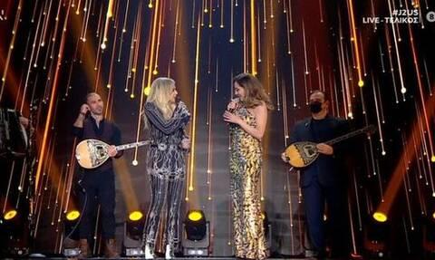 J2US: Άννα Βίσση - Δέσποινα Βανδή μαζί στη σκηνή! Η στιγμή που περιμέναμε χρόνια