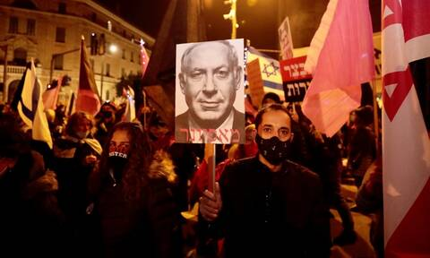 Ισραήλ: Συλλήψεις και τραυματισμοί κατά τη διάρκεια διαδηλώσεων εναντίον του πρωθυπουργού
