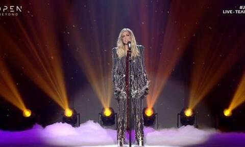 Τελικός J2US: Δείτε τι γινόταν backstage όταν τραγουδούσε η Βίσση!