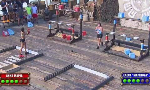 Survivor: Σάρωσε η Έλενα Κρεμλίδου στην πρώτη μονομαχία της... (video)