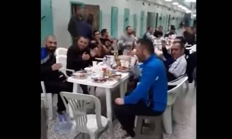 Σωφρονιστικοί υπάλληλοι: Καλώς έγινε το τραπέζι στον Κορυδαλλό, μόνη παρανομία η βιντεοσκόπηση