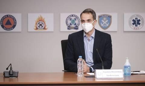 Μητσοτάκης: Οι σκέψεις μας στην Κροατία – Έτοιμη να προσφέρει η Πολιτική Προστασία της Ελλάδας