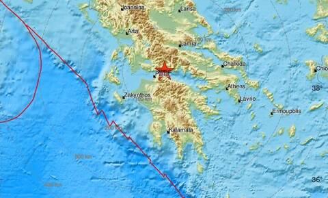 Σεισμός κοντά σε Αίγιο και Ναύπακτο - Αισθητός σε πολλές περιοχές (pics)