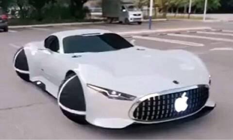 Είναι αυτό το αυτοκίνητο της Apple;