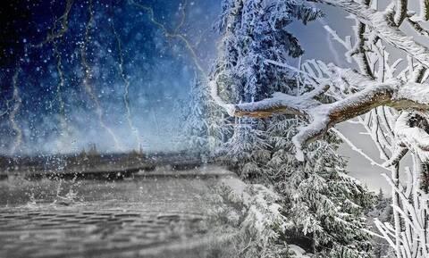 Καιρός: Ερχεται επιδείνωση με βροχές, καταιγίδες και χιόνια! Τι λένε ΕΜΥ και Αρνιακός