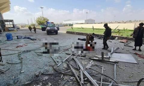 Μακελειό στην Υεμένη: 10 νεκροί από εκρήξεις και πυρά στο αεροδρόμιο του Άντεν