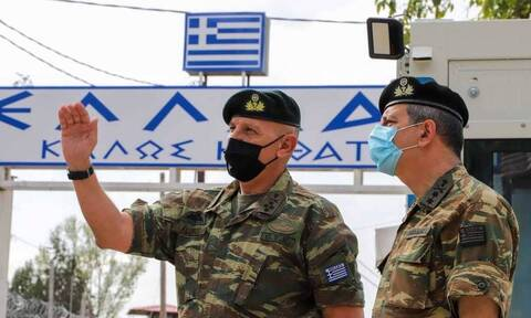 Επίσκεψη του Αρχηγού ΓΕΕΘΑ σε Κρήτη, Κάρπαθο, Καλόλιμνο, Ρόδο και σύμπλεγμα Καστελορίζου
