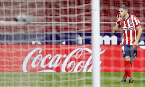La Liga – Ατλέτικο Μαδρίτης: Ο Σουάρες την κράτησε όρθια! - Δείτε το γκολ (video)