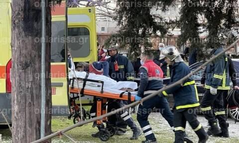 Λάρισα: Στη ΜΕΘ η 18χρονη που «κεραυνοβολήθηκε» στις γραμμές του ΟΣΕ – Πώς έγινε το ατύχημα