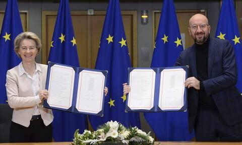 Brexit: Αυτές θα είναι από τα μεσάνυχτα οι σχέσεις ΕΕ - Ηνωμένου Βασιλείου