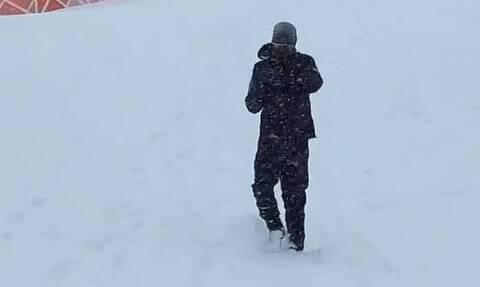 Απίθανος Τζόκοβιτς: Προπονείται στα χιόνια σαν τον... Ρόκι Μπαλμπόα! (video)