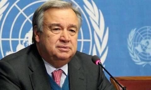 ΟΗΕ: Ο Γκουτέρες εισηγείται την ανάπτυξη διεθνούς αποστολής άοπλων παρατηρητών