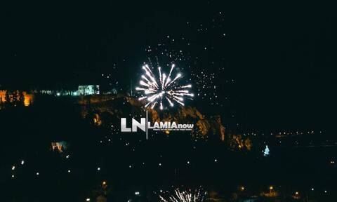 Λαμία : Φαντασμαγορικό υπερθέαμα για το 2021 – Show πυροτεχνημάτων
