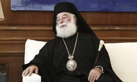 Πατριάρχης Θεόδωρος: Ένα μεγάλο ευχαριστώ στην πατρίδα μας που δεν μας ξεχνάει ποτέ