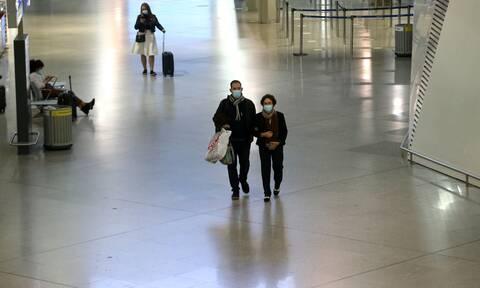Αεροπορικά ταξίδια: Για ποιους απαγορεύεται η είσοδος στη χώρα έως τις 7 Ιανουαρίου