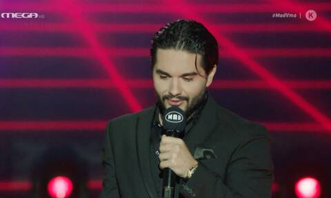 Mad Video Music Awards 2020: Συγκινήθηκε ο Μάστορας! Πού αφιέρωσε το βραβείο;
