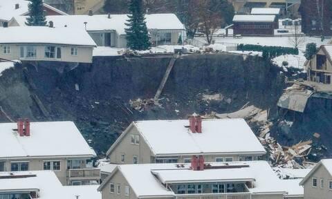 Νορβηγία: Τέσσερις νεκροί και έξι αγνοούμενοι από την κατολίσθηση